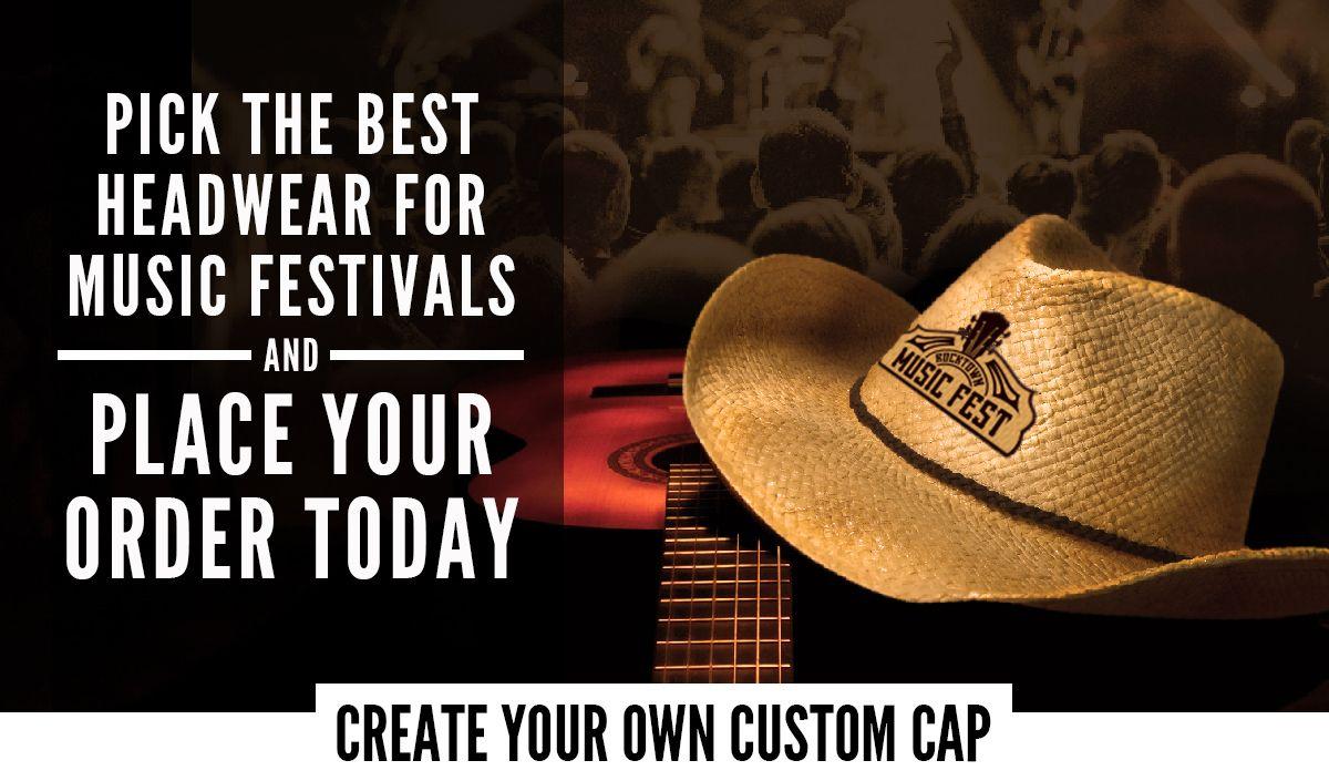 Music Festival Headwear Main Image