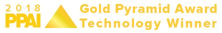 2018 PPAI Gold Pyramid Award Winner for Technology